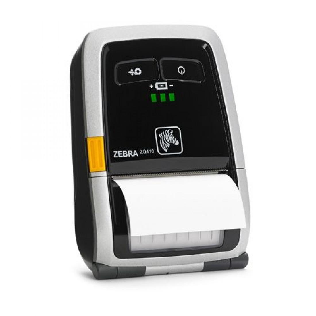ZQ110 Printer, USB, Bluetooth, MSR, EU Plug