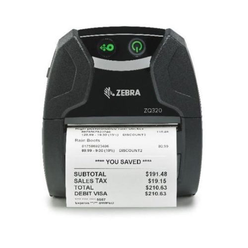 Zebra ZQ320 Outdoor Mobile Printer