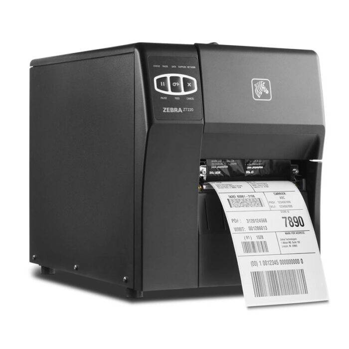 Zebra ZT220 Industrial Printer